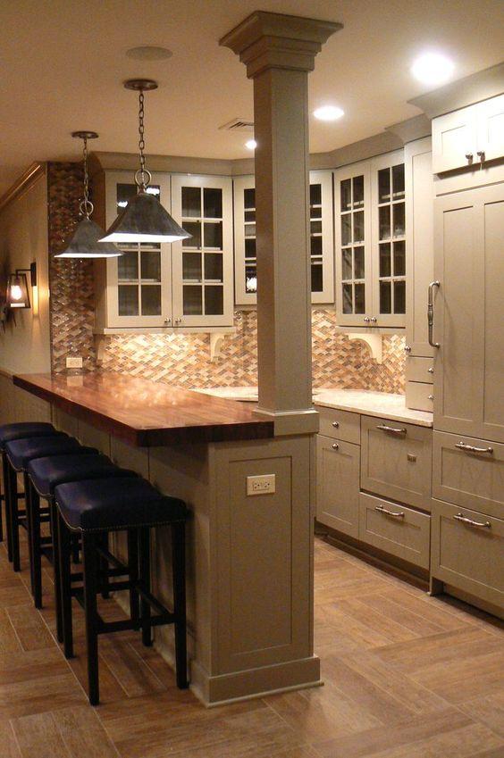 kitchen bar ideas 13