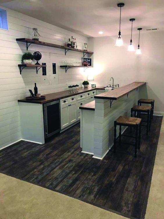 kitchen bar ideas 23