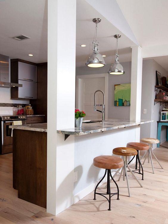 Kitchen Bar Ideas: Simple Kitchen Bar