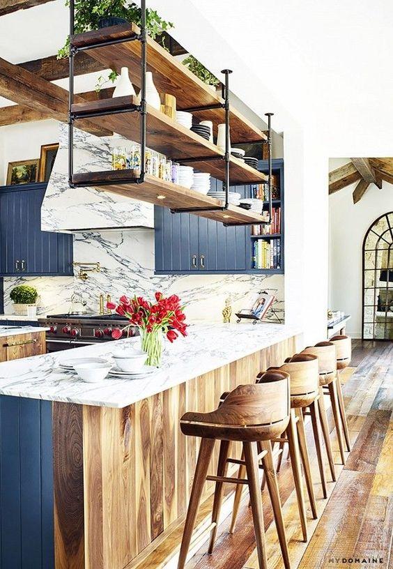Kitchen Bar Ideas: Fresh Rustic Design