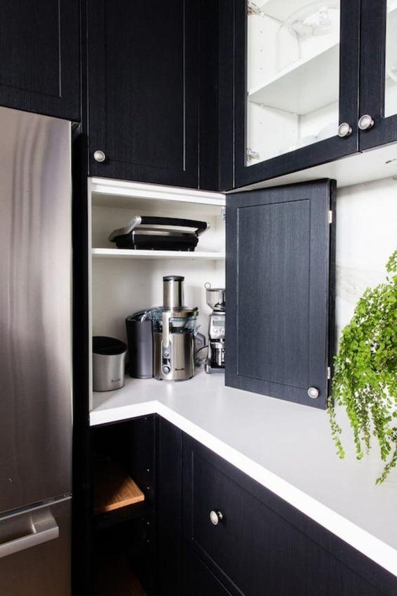 Kitchen Corner Ideas: Simple Corner
