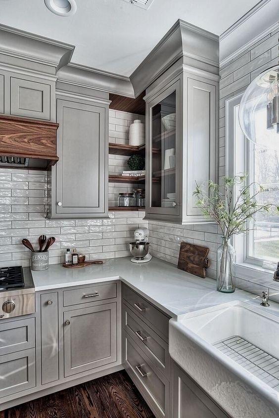 Kitchen Corner Ideas: Tiny Corner