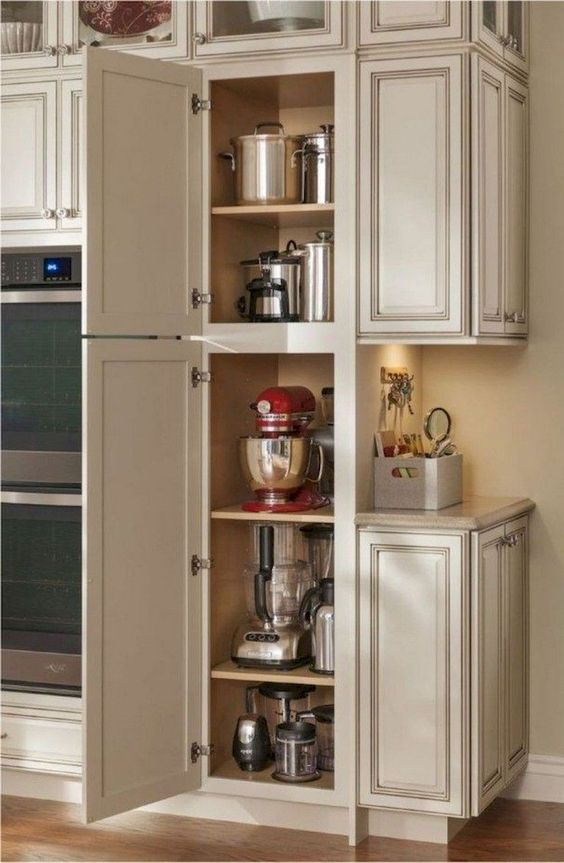 Kitchen Corner Ideas: Keep Machines Inside