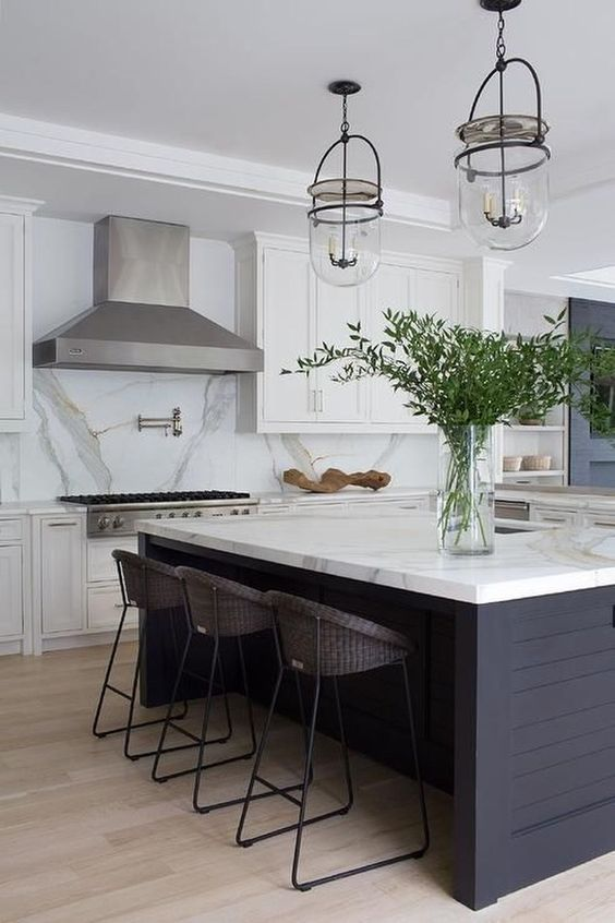 Kitchen Marble Ideas: Stunning Marble and Earthy