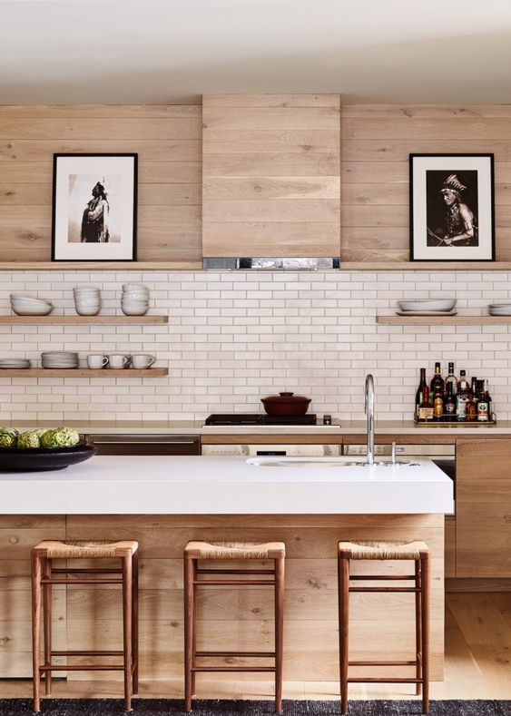 Kitchen Wood Ideas: Gorgeous Wooden Kitchen