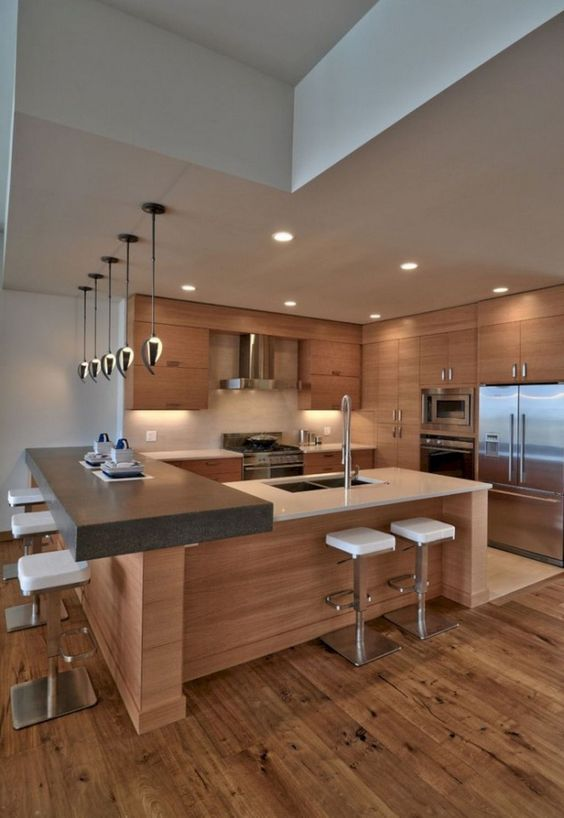 kitchen wood ideas 16