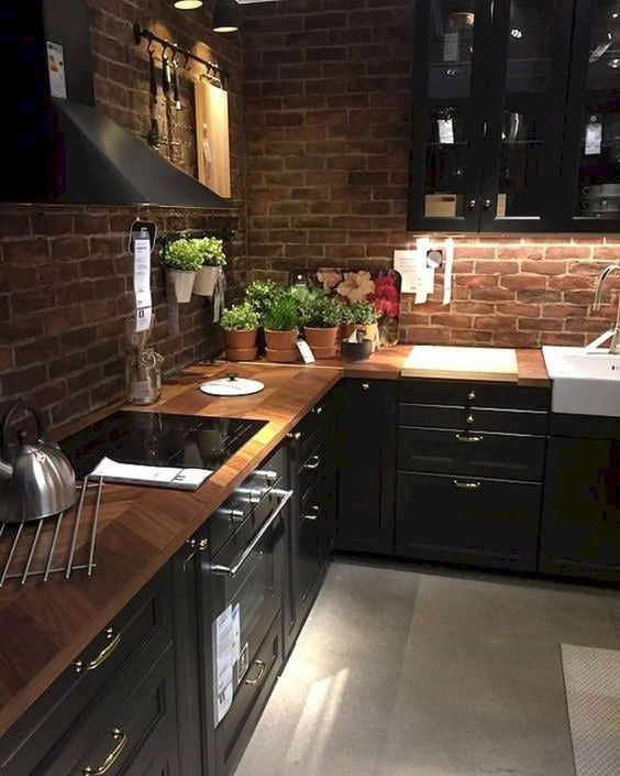 Kitchen Wood Ideas: Elegant Wooden Kitchen