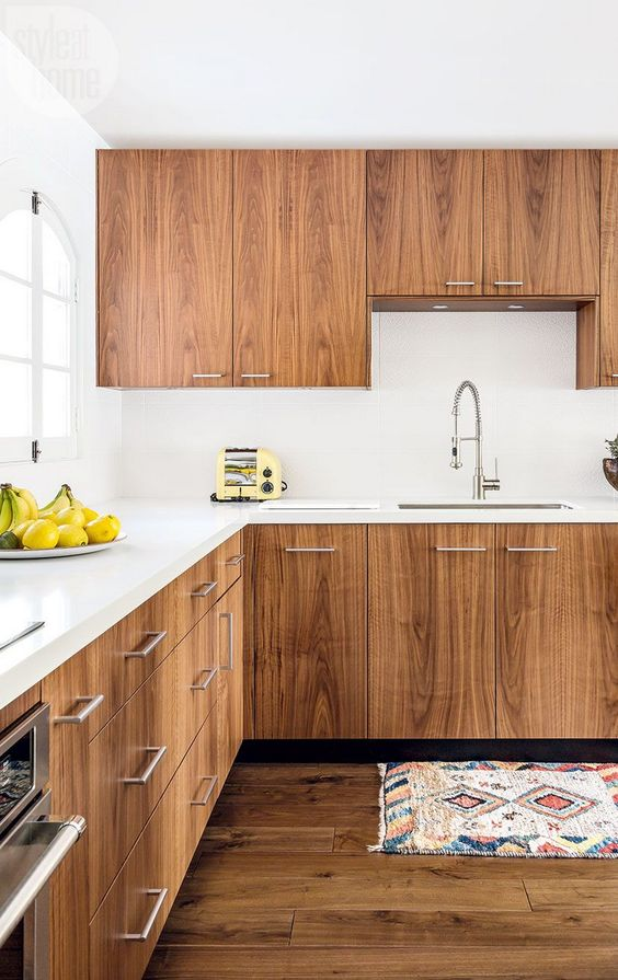 Kitchen Wood Ideas: Chic Wooden Kitchen