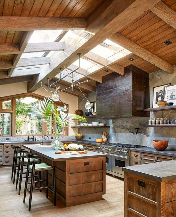 Kitchen Wood Ideas: Breathtaking Wooden Kitchen