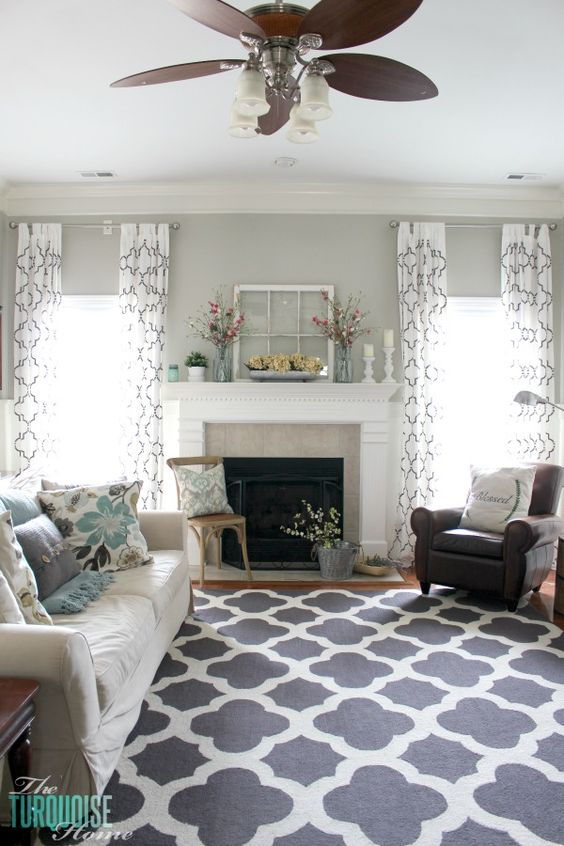 living room curtains ideas 13