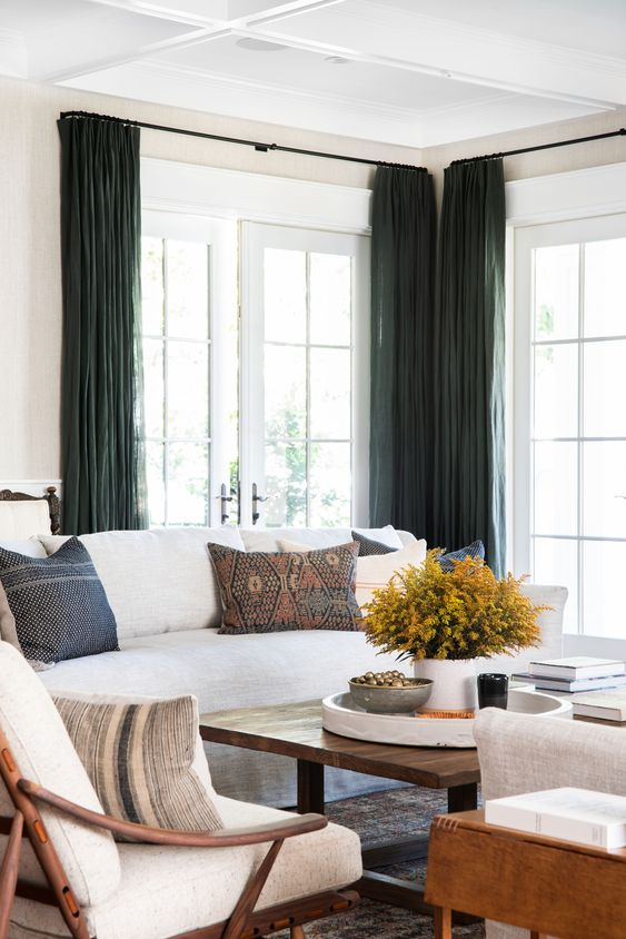 living room curtains ideas 7