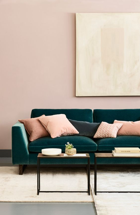 living room pink ideas 13