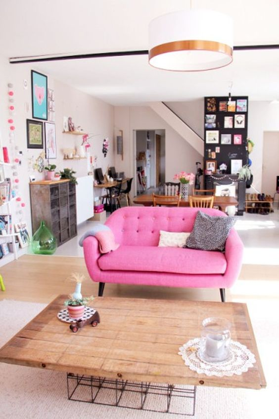 living room pink ideas 15