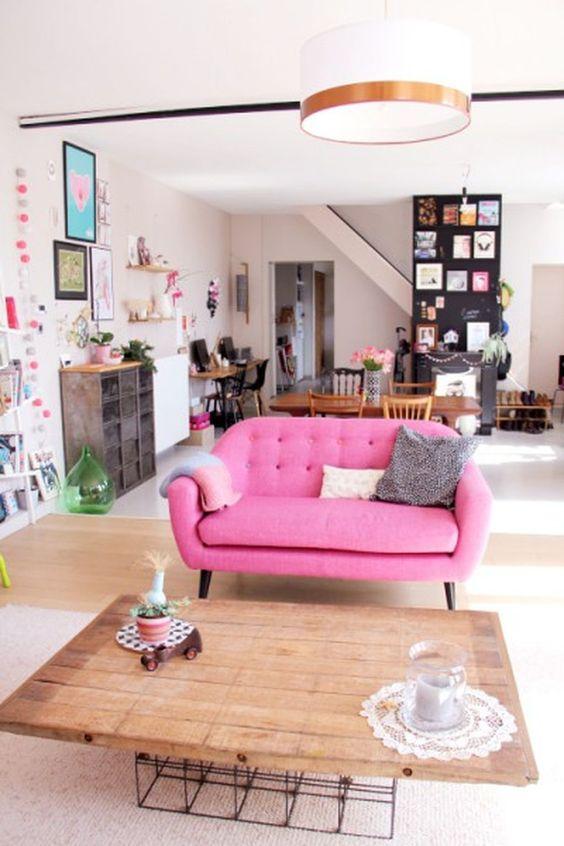 living room pink ideas 15