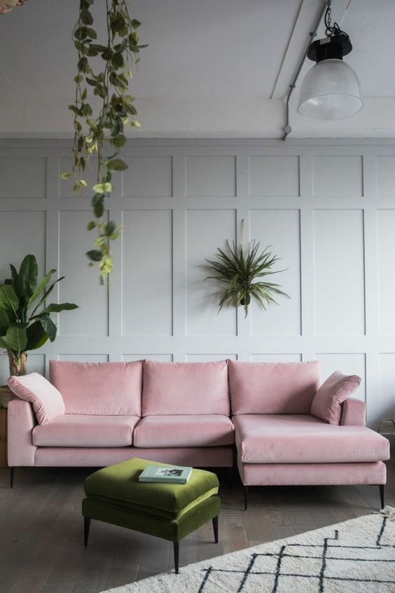 living room pink ideas 16
