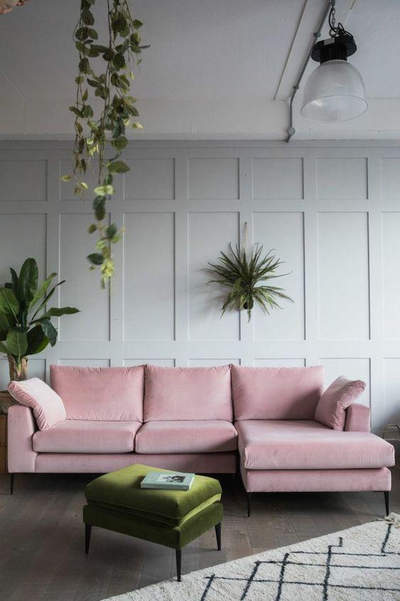 living room pink ideas 16