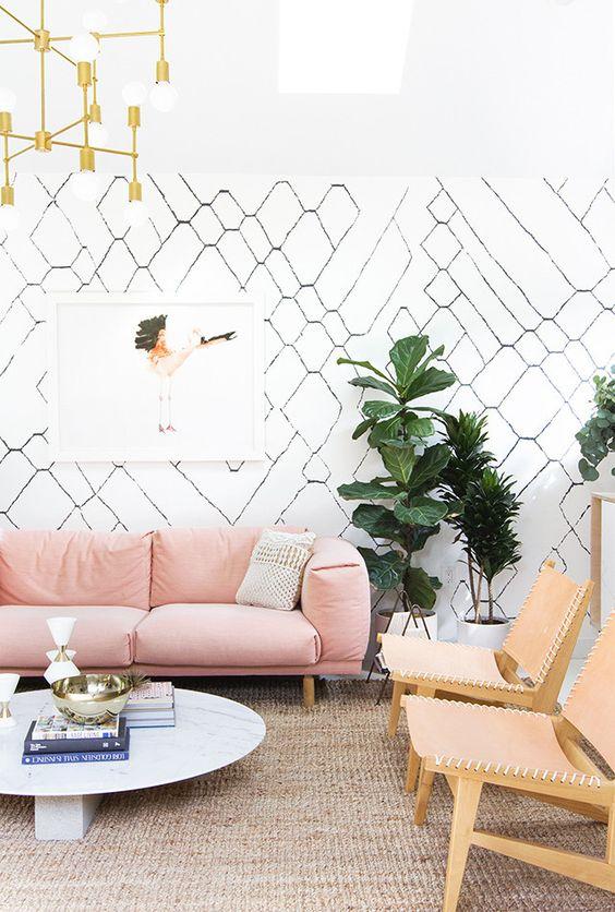 living room pink ideas 20
