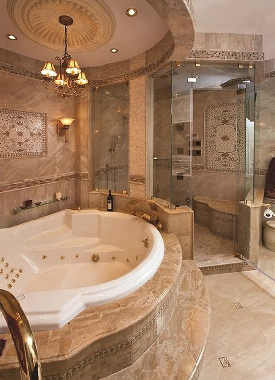 Luxury Bathroom Ideas: Get That Gold!