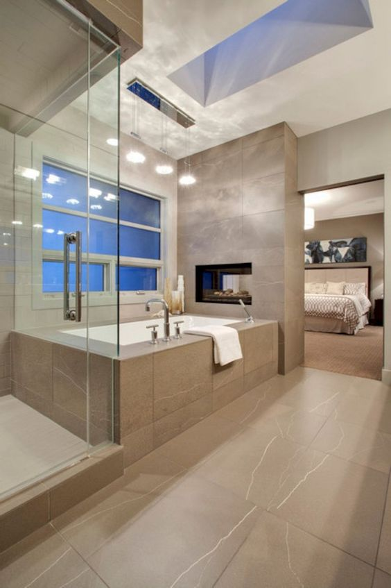 Luxury Bathroom Ideas: Open The Luxury