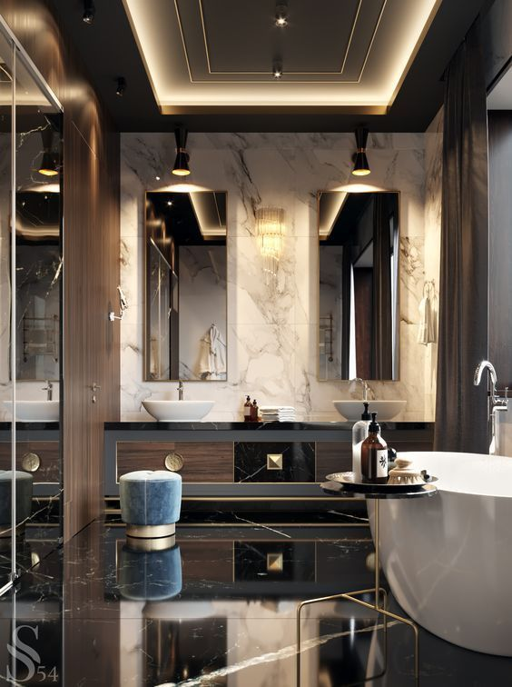 Luxury Bathroom Ideas: Let It Glow