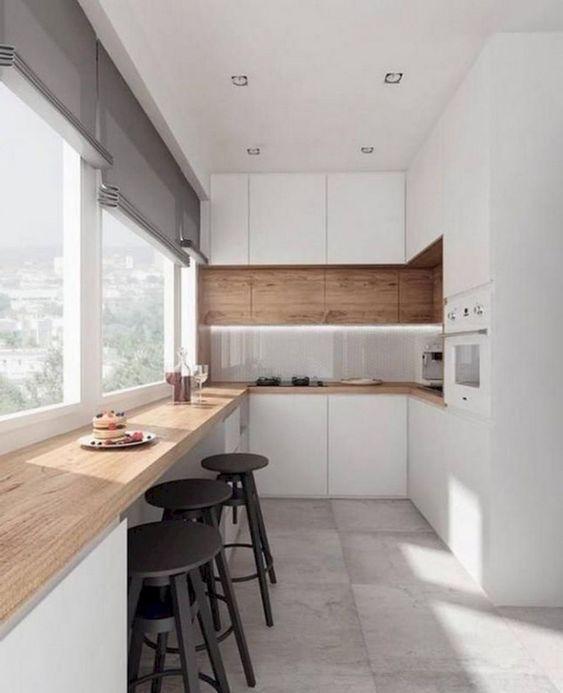 Minimalist Kitchen Ideas: Elegant White Kitchen