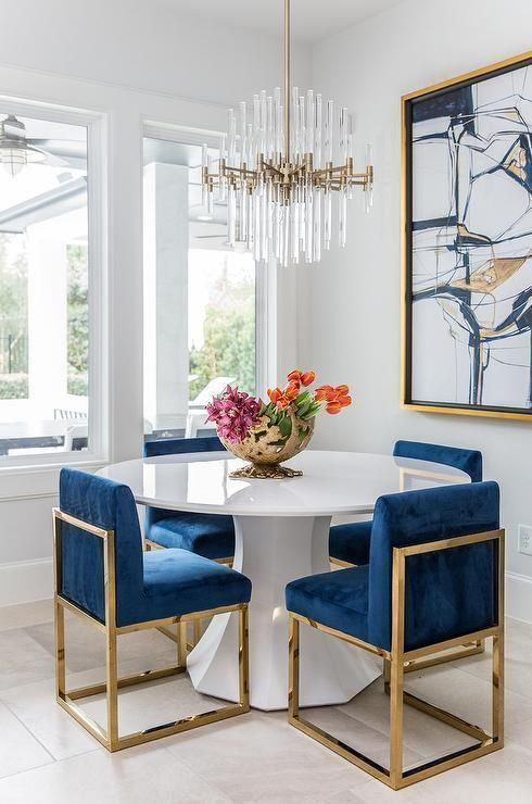 navy dining room ideas 13