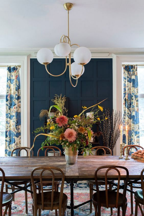 navy dining room ideas 16