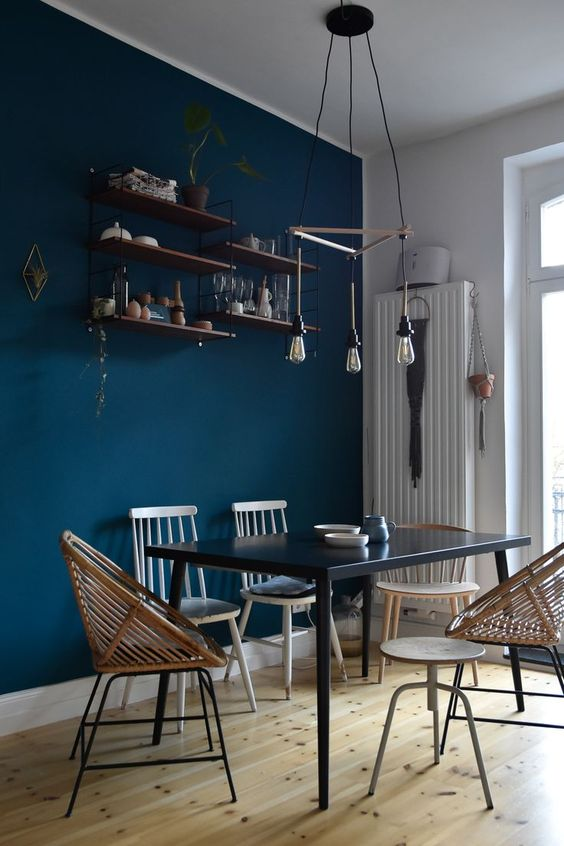 navy dining room ideas 24