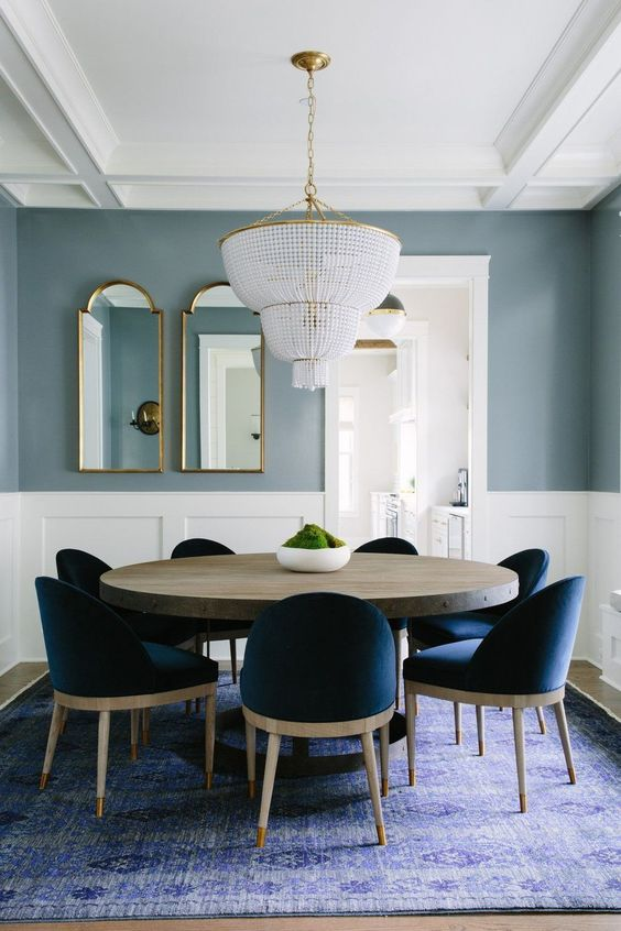 Navy Dining Room Ideas: Simple Is The Best, Isn't It?