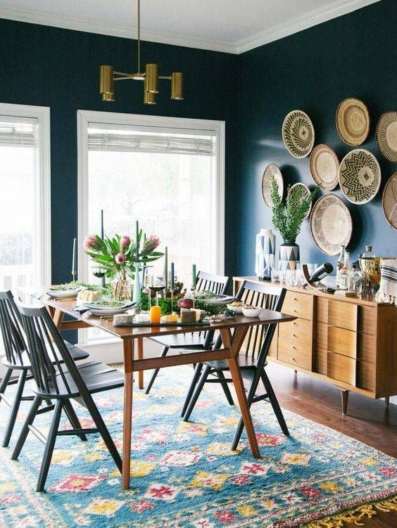 Navy Dining Room Ideas: Make Yourself A Designer