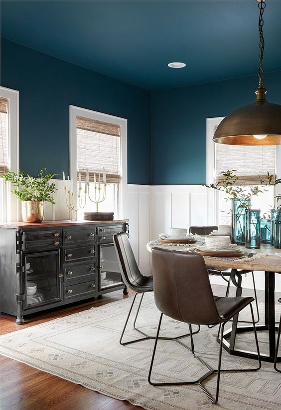 Navy Dining Room Ideas: Everyone Loves Classic