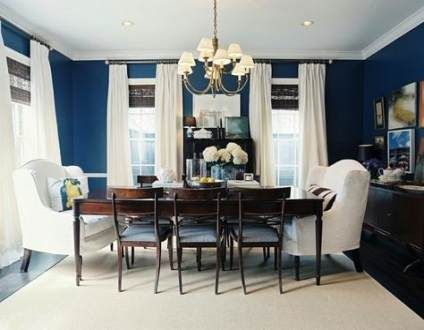 navy dining room ideas feature