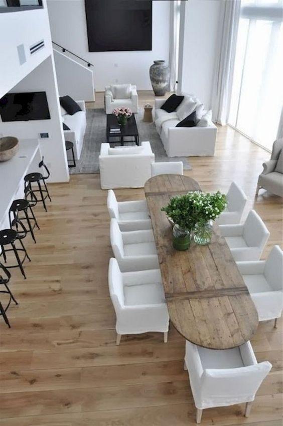 open dining room ideas 20