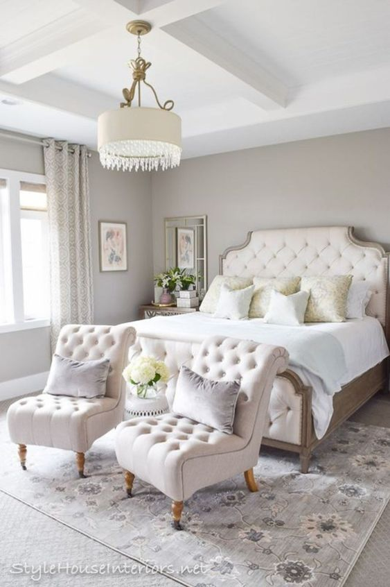 Romantic Bedroom Ideas: Stunningly Captivating All White
