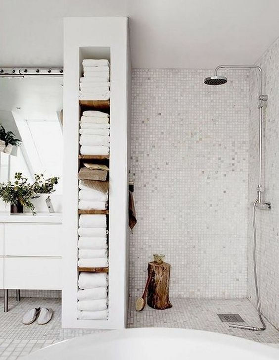 Scandinavian Bathroom Ideas: Keep Them White