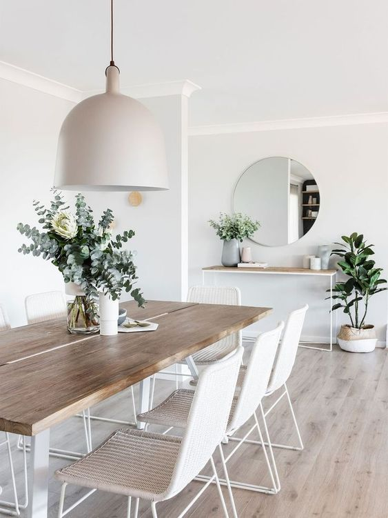 Dining Room Scandinavian Ideas: Simple Is The Best
