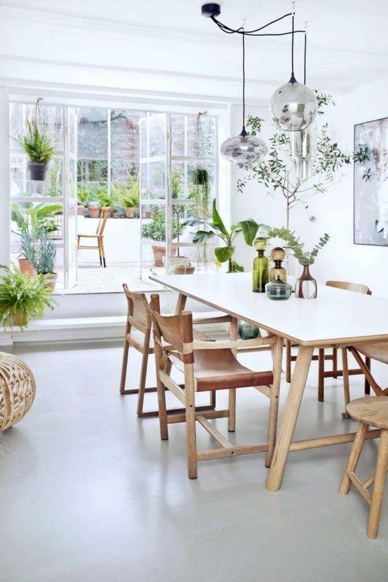 scandinavian dining room ideas 19