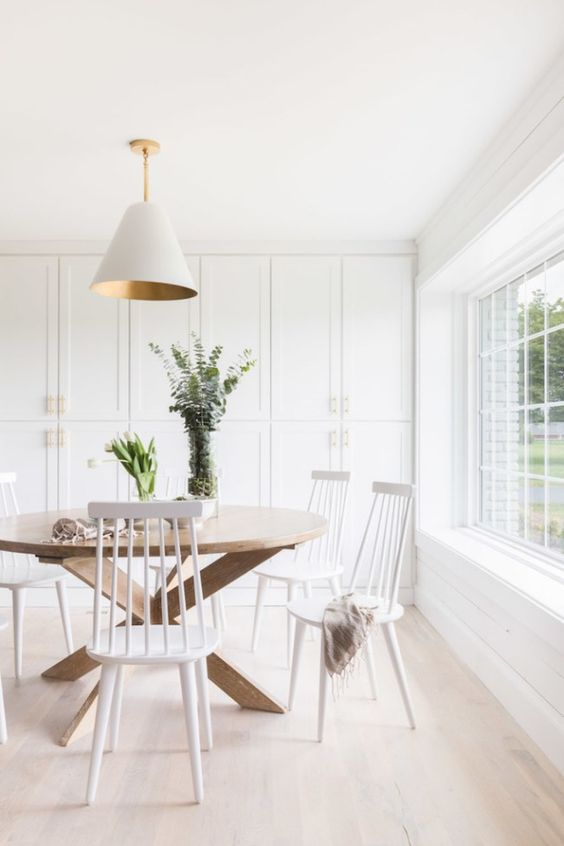 Dining Room Scandinavian Ideas: Let The Sun Shines