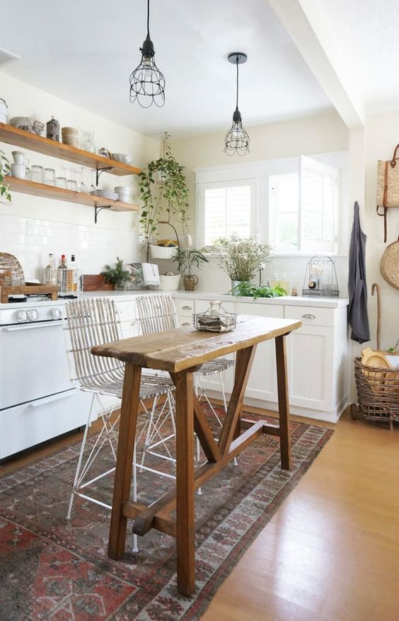 Tiny Kitchen Ideas: Lovely Fresh Kitchen
