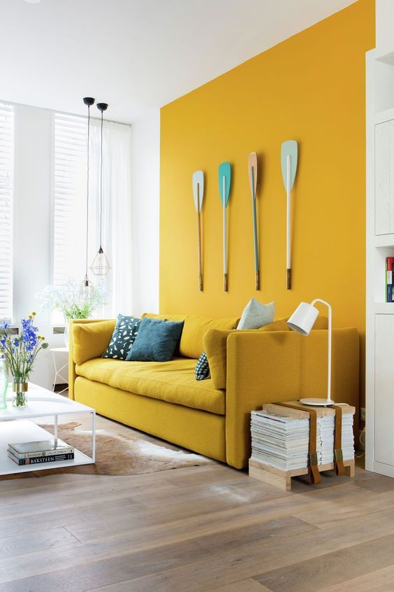 yellow living room 18