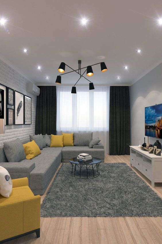 Yellow Living Room: 25+ Yellow Living Room Ideas For Freshly Looking Space