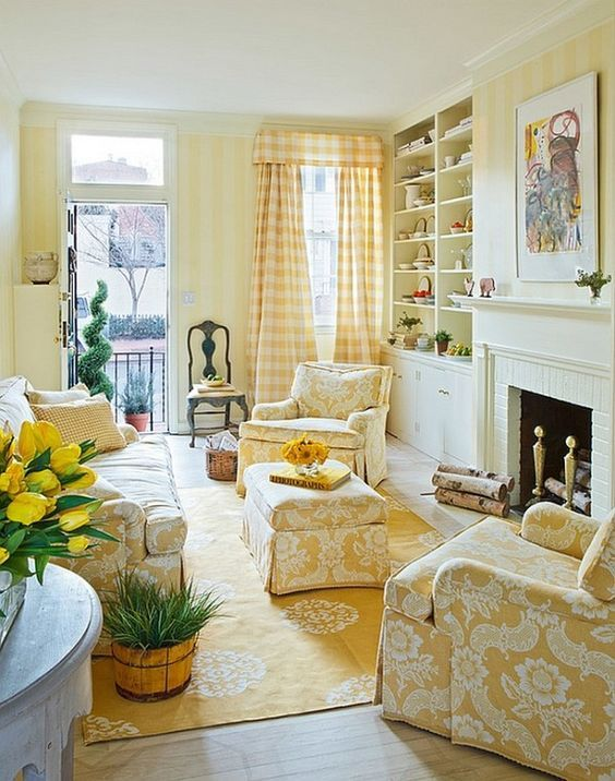 yellow living room 7