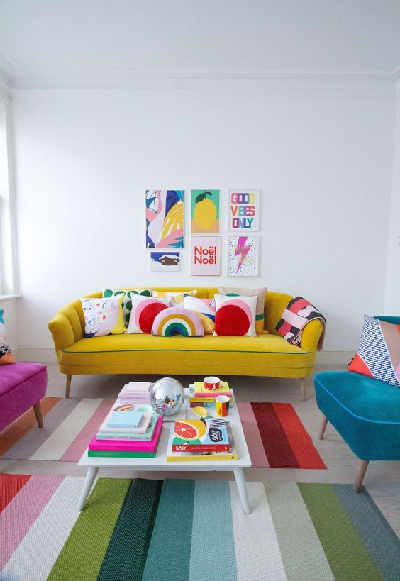 yellow living room 8