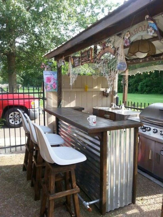 Backyard Bar Ideas: Take Out Your Creativity