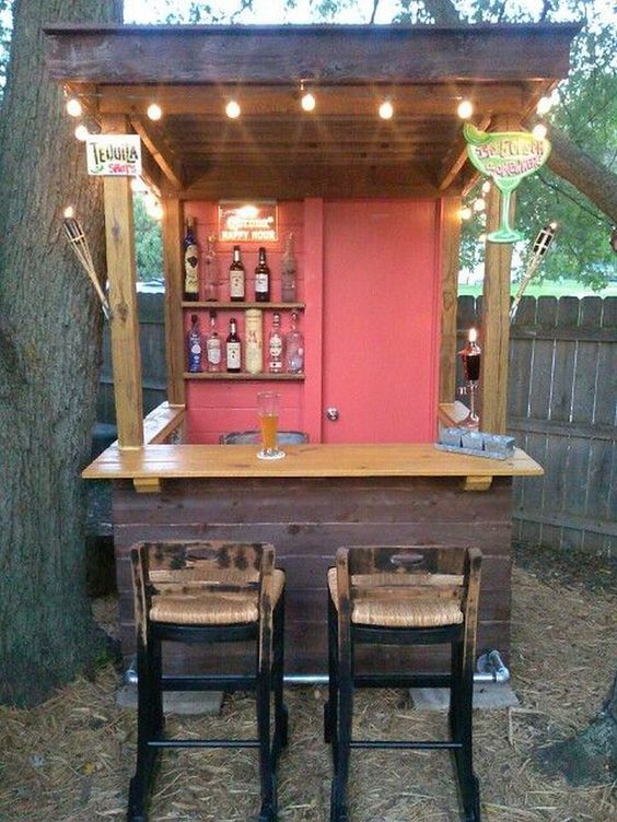 backyard bar ideas 22