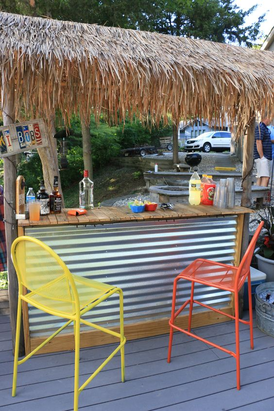 backyard bar ideas 25