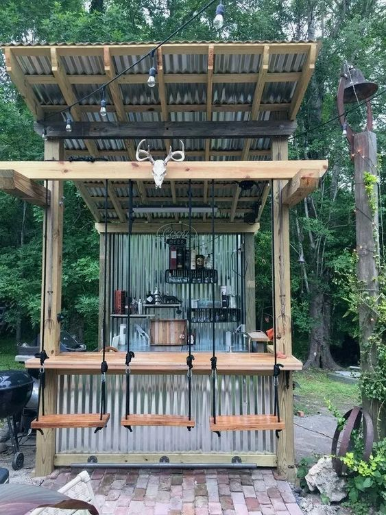 Backyard Bar Ideas: Make A Fun Bar