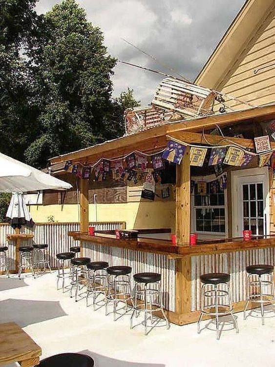 backyard bar ideas 7