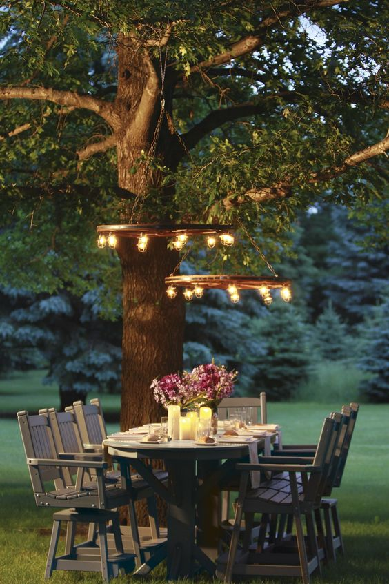 backyard dining ideas 25