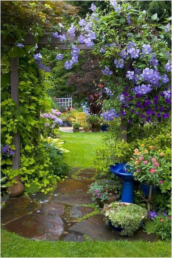 backyard flowers ideas 17